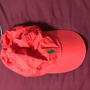 Red Polo Ralph Lauren Hat
